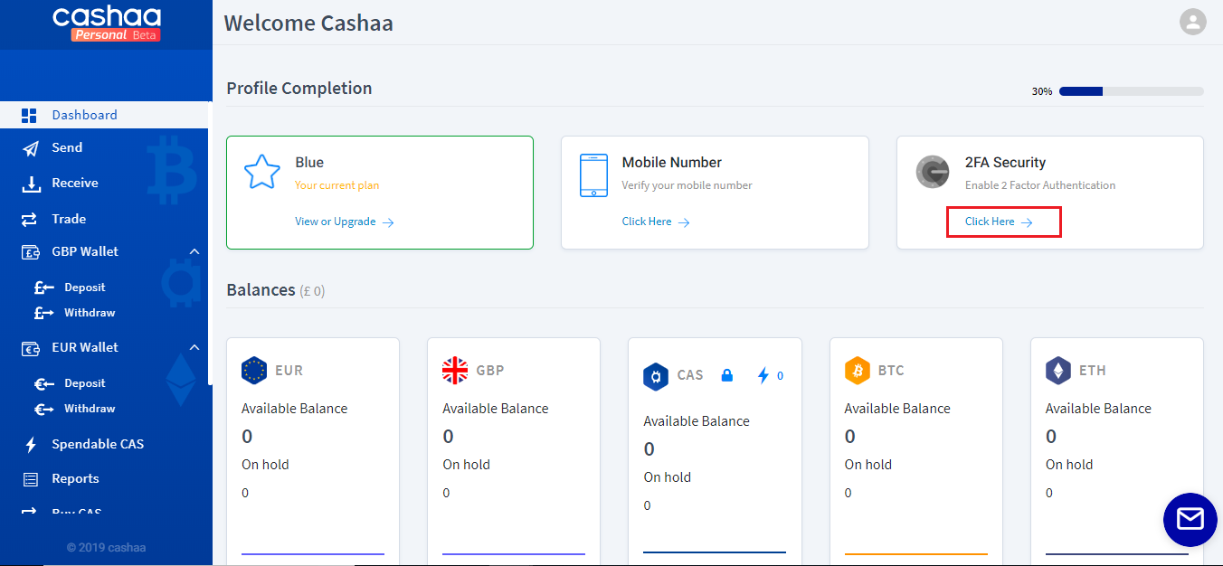 How to enable Google 2FA in your Cashaa Account ? – Cashaa